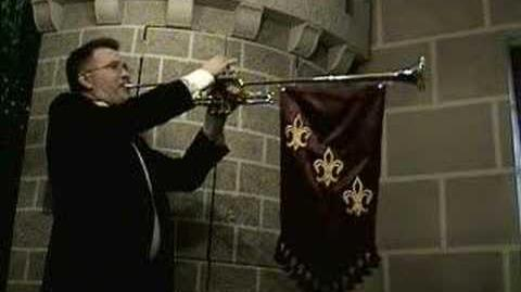 Royal Entrance Fanfare - Randy Dunn, heralding trumpet