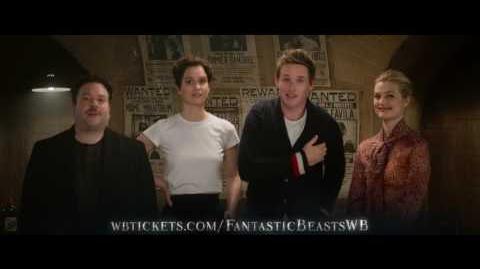 A Return to J K Rowling's Wizarding World Fantastic Beasts Global Fan Event