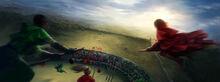 B1C11M2 Gryffindor vs Slytherin Quidditch match.jpg