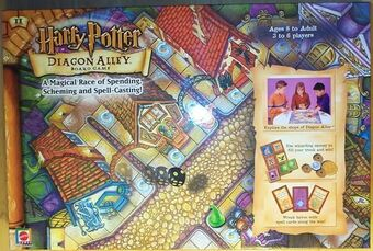 Harry Potter Diagon Alley Board Game Harry Potter Wiki Fandom
