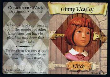 Ginny Weasley (karta)