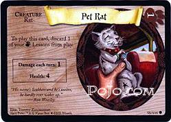 Oswojony Szczur (karta)