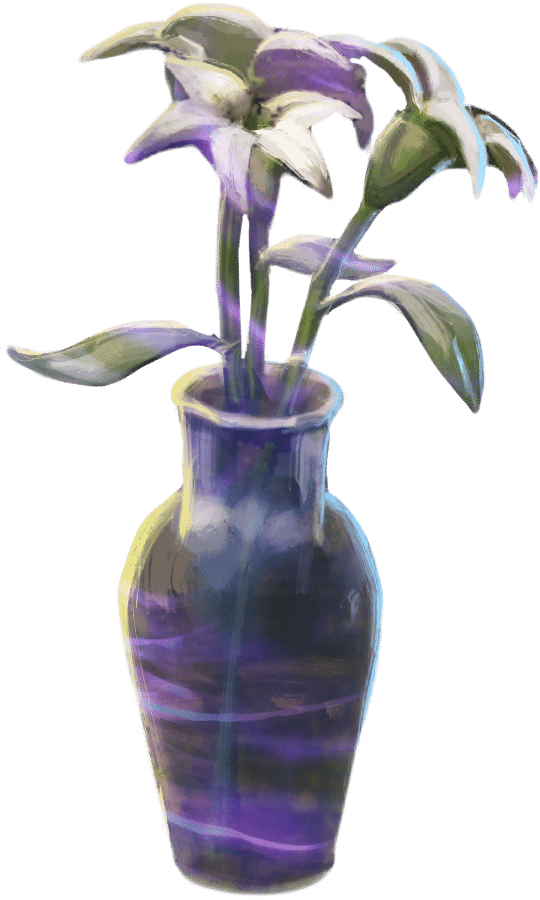 Brilliant Vase of Lilies WU.png