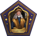 Armando Dippet Chocolate Frog Card HM.png