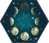 Lunar Phases HM Astronomy Icon