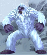 Yeti at the Magical Creatures Reserve