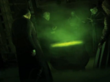 Draco Malfoy's Death Eater initiation ceremony