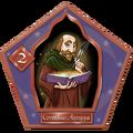Cornelius Agrippa Chocolate Frog Card.png
