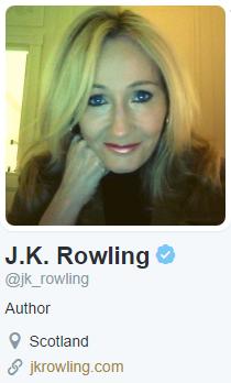 J.K.罗琳的推特账号