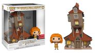 The Burrow and Molly Weasley funko pop