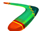 Ever-Bashing Boomerang