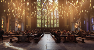 Hogwarts Legacy (the great hall)