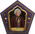 Garrick Ollivander Chocolate Frog Card HM.png
