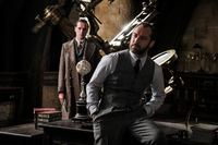 Jude Law as Dumbledore at Hogwarts