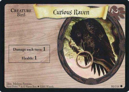 Ciekawski kruk (karta)