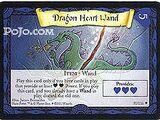 Różdżka z włóknem ze smoczego serca (karta)