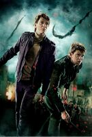 TDHp2 Textless Poster Weasley Twin action