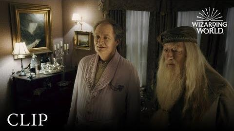 Horace Slughorn Harry Potter and the Half-Blood Prince