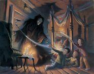 Sirius Black in the Shrieking Shack - Mary Grandpre POA