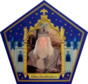 Dumbledore Chocolate Frog Card.png