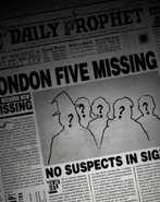 London Five Missing