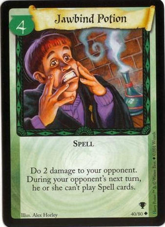 Harry Potter CCG Diagon Alley Card 72//80 Swelling Potion