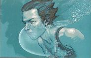Седрик под водой