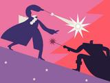 Duel between Albus Dumbledore and Gellert Grindelwald