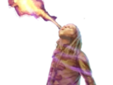 Unidentified fire-breather