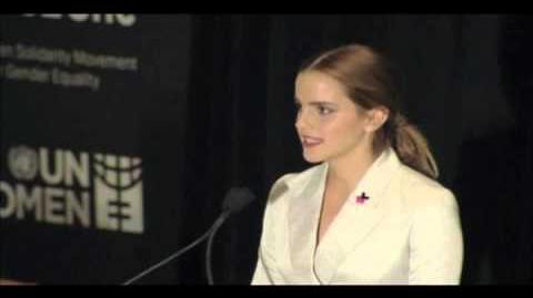 Emma Watson HeForShe Speech at the United Nations UN Women 2014