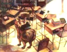 Desk Into Pig