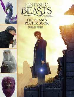 Fantastic Beasts and Where to Find Them The Beasts Poster Book Обложка Постер-бук.PNG
