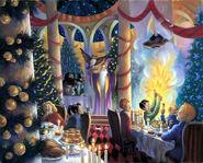 Christmas at Hogwarts - Mary Grandpre PS
