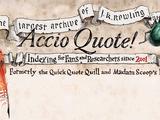 Accio Quote!
