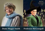 HM promo Maggie Smith Minerva McGonagall