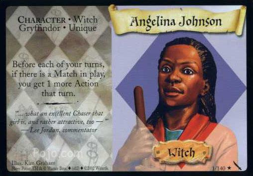Angelina Johnson (Trading Card)
