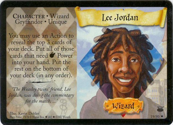 Lee Jordan (karta)