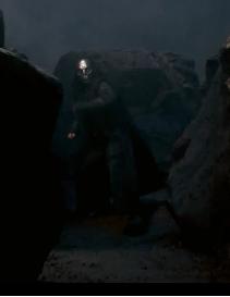 Comensal da Morte não identificado nocauteado por Alastor Moody