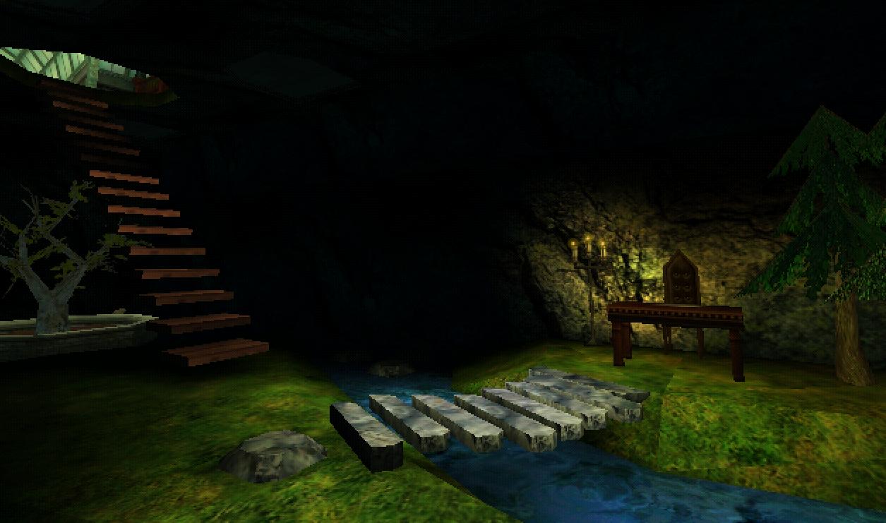 Secret study beneath Greenhouse One