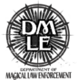 Logotipo do Departamento de Execução das Leis da Magia.png