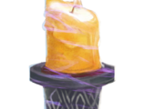 Poisonous candle