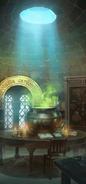 PAS Potions classroom