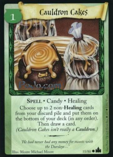 Cauldron Cakes (Trading Card)