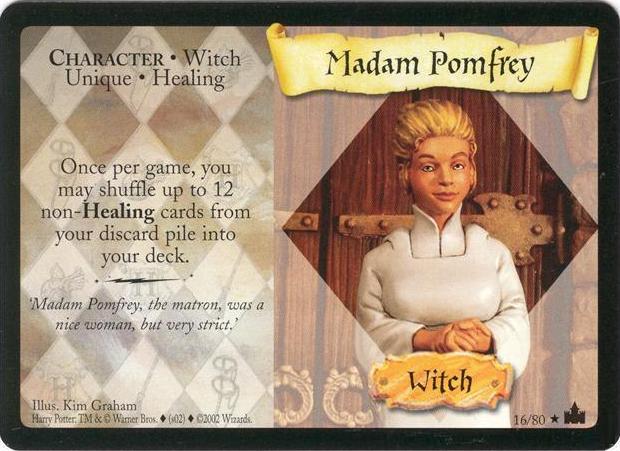 Madame Pomfrey (karta)