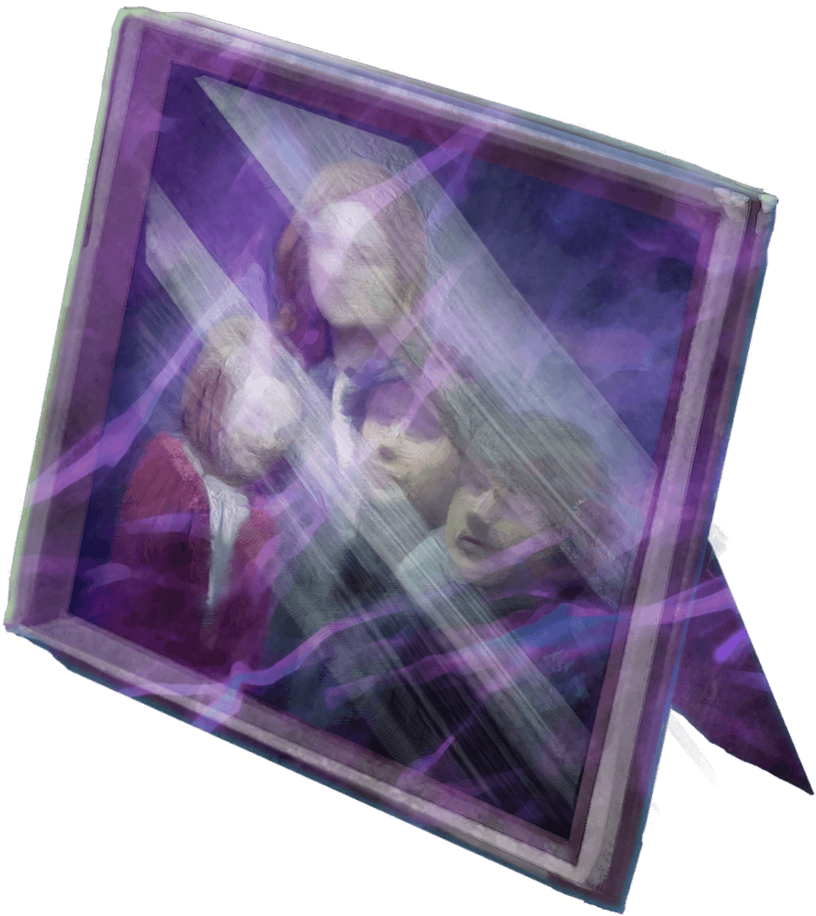 Brilliant Framed Family Photo (Ginny, Albus, James, Lily) WU.png