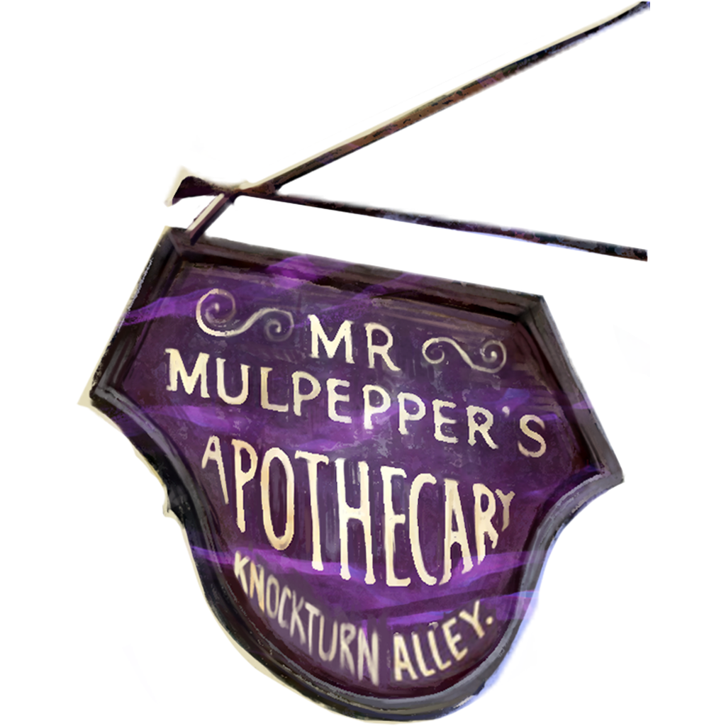 Brilliant Mulpepper's Apothecary Sign WU.png