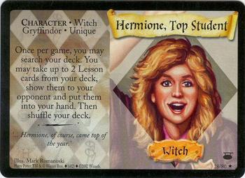 Hermiona, najlepsza uczennica (karta)
