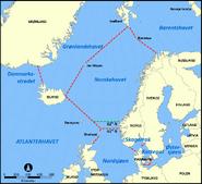 Norwegian Sea map no