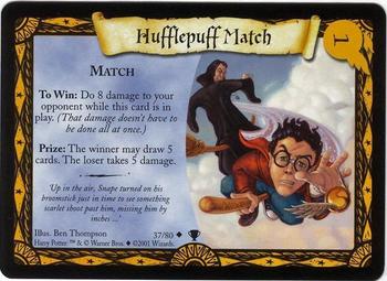 Mecz z Hufflepuffem (karta)