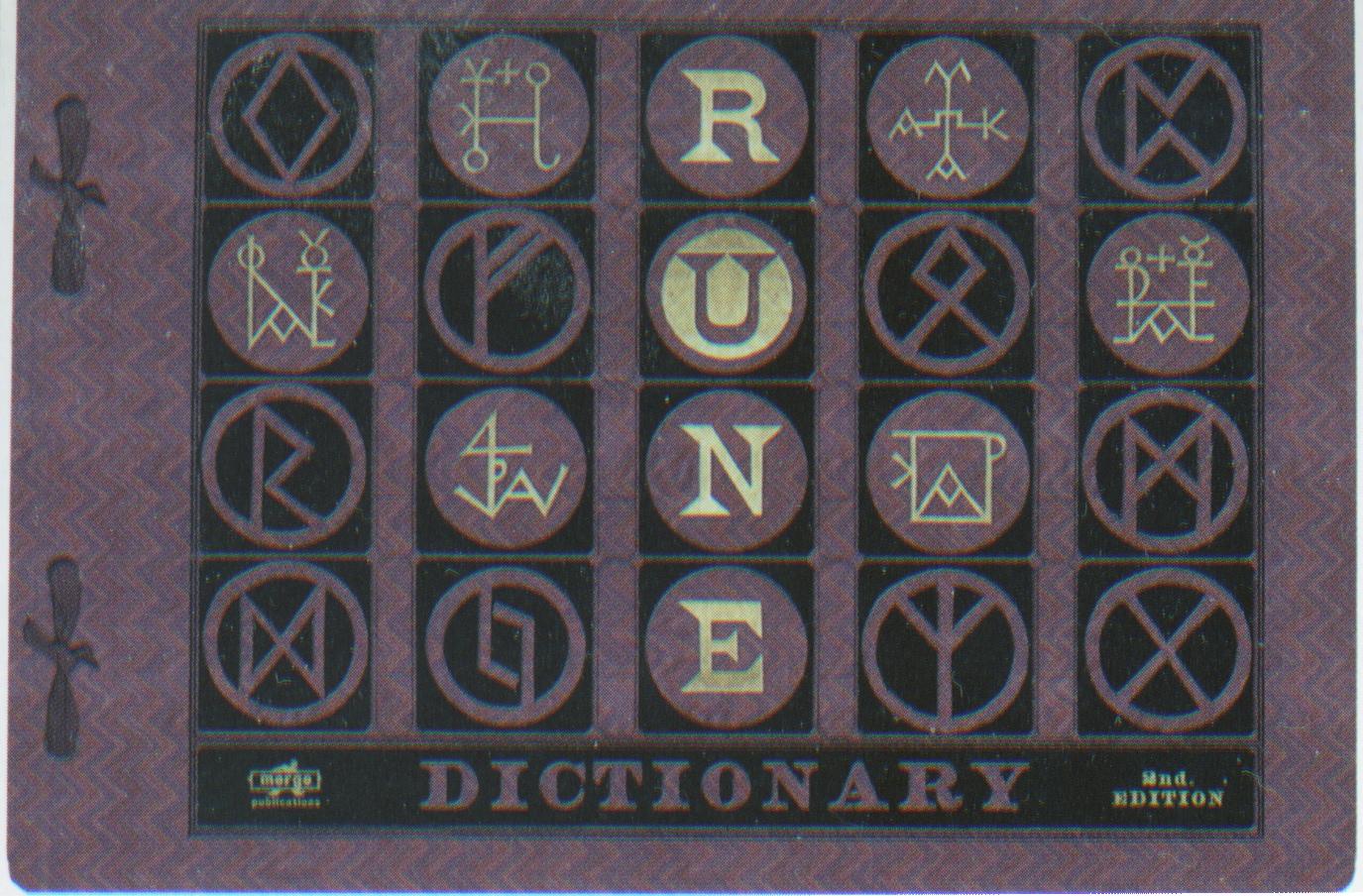 Rune Dictionary
